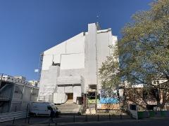 Eglise Saint-Germain - Français:   Église Saint-Germain de Pantin en chantier.