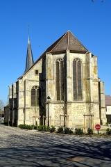 Eglise Saint-Leu-Saint-Gilles - Français:   Église Saint-Leu-Saint-Gilles - voir le titre du fichier.