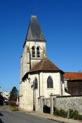Eglise Notre-Dame de l'Assomption - Français:   Église Notre-Dame de l\'Assomption d\'Épiais-lès-Louvres, vue depuis l\'est.