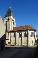 Eglise Notre-Dame de l'Assomption - Français:   Église Notre-Dame de l\'Assomption d\'Épiais-lès-Louvres, vue depuis le sud.