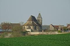 Eglise Saint-Martin - Français:   Mareil-en-France, église Saint-Martin, approche par l\'est;