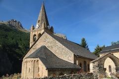 Ensemble religieux - Italiano:   Ensemble religieux de La Grave, comprenant l\'Église Notre-Dame-de-l\'Assomption, la chapelle des pénitents et le cimetière