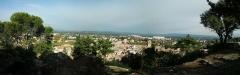 Colline Saint-Eutrope - Français:   Panorama ville d\'Orange, depuis les hauteurs de la colline Saint-Eutrope