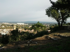 Colline Saint-Eutrope - Français:   Ville d\'Orange, depuis les hauteurs de la colline Saint-Eutrope
