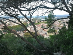Colline Saint-Eutrope - Français:   Vue sur la ville d\'Orange, depuis les hauteurs de la colline Saint-Eutrope