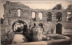 Restes de l'amphithéatre dit Palais Gallien - Français:   Bordeaux - ruines du Palais Gallien
