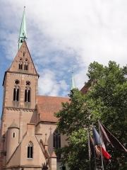 Eglise protestante Saint-Pierre-le-Jeune - Français:   Alsace, Bas-Rhin, Église protestante Saint-Pierre-le-Jeune de Strasbourg (PA00085030).
