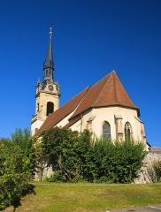 Eglise catholique Sainte-Colombe - Français:   Église Sainte-Colombe de Hattstatt, 11 rue du Bourgrain (Inscrit, 1984)