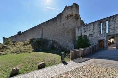 Château de Hohlandsberg ou Hohlandsbourg -   Château du Hohlandsbourg (Haut-Rhin)  <a href=\