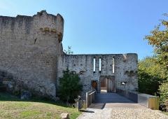 Château de Hohlandsberg ou Hohlandsbourg -   Château du Hohlandsbourg (Haut-Rhin) - Entrée  <a href=\