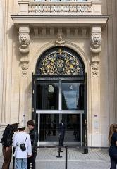 Bourse de commerce - Français:   Bourse du Commerce, Paris.