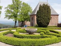 Monastère de Sainte-Odile, au Mont-Saint-Odile -  Alsace, Bas-Rhin, Ottrott, Couvent du Mont Sainte-Odile (PA00084884, IA00075612): Chapelles des Anges et des Larmes.