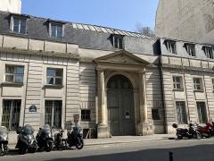 Hôtel Chéret ou Akermann - Français:   Entrée de l\'hôtel Chéret.