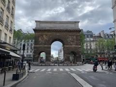 Porte Saint-Martin - Français:   Porte Saint-Martin, Paris.