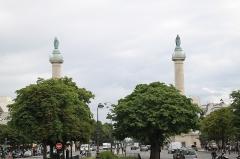 Barrière du Trône -  Paris, France. Complete indexed photo collection at WorldHistoryPics.com.
