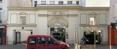 Maison - Français:   Portail au 71 rue de la Roquette, Paris.