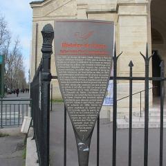Eglise Saint-Pierre de Montrouge - Français:   Panneau Histoire de Paris