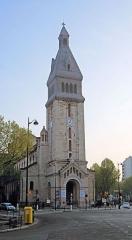 Eglise Saint-Pierre de Montrouge -  The Tower Of The Church Of Saint-Pierre-de-Montrouge - Paris.