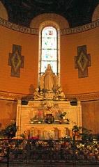 Eglise Saint-Pierre de Montrouge -  Chapel In The Church Of Saint-Pierre-de-Montrouge - Paris.