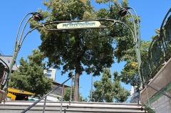 Métropolitain, station Porte-d'Auteuil - Français:   Bouche du métro Porte-d\'Auteuil, place de la Porte-d\'Auteuil (Paris, 16e).