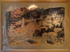Auberge Ganne - English:   Barbizon (Seine et Marne) - Auberge Ganne (musée départemental de l\'École de Barbizon) - Affiche  www.musee-peintres-barbizon.fr/  fr.wikipedia.org/wiki/Mus%C3%A9e_d%C3%A9partemental_de_l%...