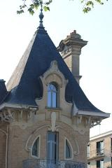 Maison Pierrotet - Français:   Maison Pierrotet depuis la rue Saint-Honoré, à Fontainebleau.