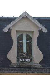 Maison Pierrotet - Français:   Fenêtre au deuxième étage de la maison Pierrotet depuis la rue Saint-Honoré, à Fontainebleau.