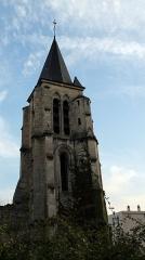 Eglise Sainte-Marie-Madeleine - Français:   Clocher de l\'église Sainte Marie Madeleine, Massy, Essonne, France