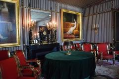 Domaine national de la Malmaison - Français:   Salle du conseil - Château de Malmaison