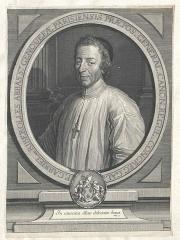 Ancienne abbaye Sainte-Geneviève, actuel lycée Henri IV - Français:   Portrait de Gabriel de Riberolles (1647-1733), abbé de Sainte-Geneviève de Paris (1715-1721) et supérieur général des chanoines réguliers de la congrégation de France.