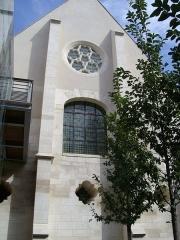 Ancien couvent des Bernardins - Français:   Vue extérieure du Collège des Bernardins