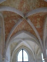 Ancien couvent des Bernardins - Français:   Voûte du Collège des Bernardins