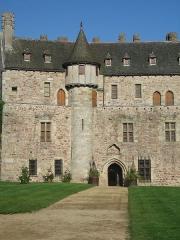 Château de la Roche-Jagu et ses dépendances -  Chateau de la Roche-Jagu detail Cotes d\'Armor France