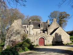 Manoir de Kersaliou - Français:   Manoir de Kersaliou à Saint-Pol de Léon.