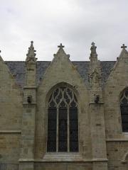 Eglise Saint-Melaine - Français:   Une des chapelles méridionales de l\'église Saint-Melaine à Domalain (35).