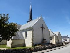 Eglise Saint-Cyr et Sainte-Julitte - Français:   Église Saint-Cyr-et-Sainte-Julitte d\'Ambon