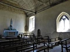 Eglise Saint-Cyr et Sainte-Julitte - English:   Interior of Église Saint-Cyr-et-Sainte-Julitte d\'Ambon