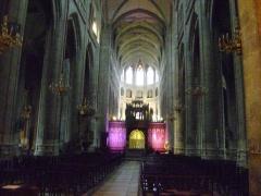 Cathédrale Sainte-Marie - Français:   Cathédrale Sainte-Marie d\'Auch, Gers. La nef centrale.