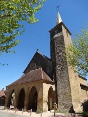 Eglise - Français:   L\'église Saint-Gilles de Mont-d\'Astarac.