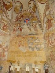 Eglise - Français:   Peintures murales de l\'église Saint-Gilles de Mont-d\'Astarac.
