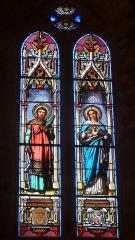 Eglise - Français:   Vitraux de l\'église Saint-Gilles de Mont-d\'Astarac.