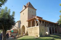 Porte de ville - Français:   Tour Porte fin XVème siècle