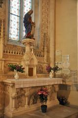 Basilique Notre-Dame-des-Enfants - Français:   Chapelle Sainte-Anne abside droite Basilique Notre-Dame des Enfants