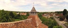 Eglise Saint-Julien - Français:   Coq au sommet du clocher église Saint Julien Osmery