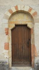 Eglise Saint-Julien - Français:   Eglise Saint Julien Osmery porte Sud Ouest