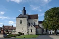 Eglise Saint-Genou (ancienne abbatiale) - Français:   Abbatiale Saint-Genou de Saint-Genou
