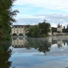 Domaine de Chenonceau - Français:   Le château de Chenonceau, monument historique est répertorié dans la base Mérimée sous la référence PA00097654. Il est classé au patrimoine mondiale de l\'Unesco.