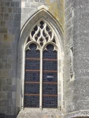 Basilique Notre-Dame - Français:   Basilique Notre-Dame de Cléry-Saint-André (Loiret, France), vue depuis le sud