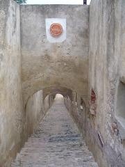 Citadelle et palais du Gouverneur, partiellement aménagé en Musée d'Ethnographie -  Bastia - Citadelle - hundreds of steps