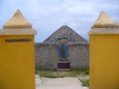Citadelle et palais du Gouverneur, partiellement aménagé en Musée d'Ethnographie -  Bastia - Citadelle - Symboles de la Corse exhibition entrance